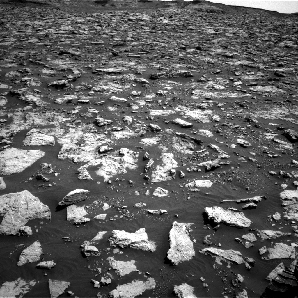 Nasa's Mars rover Curiosity acquired this image using its Right Navigation Camera on Sol 3025, at drive 480, site number 86