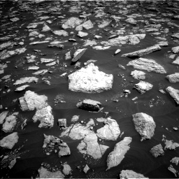 Nasa's Mars rover Curiosity acquired this image using its Left Navigation Camera on Sol 3026, at drive 492, site number 86