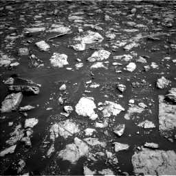 Nasa's Mars rover Curiosity acquired this image using its Left Navigation Camera on Sol 3026, at drive 558, site number 86