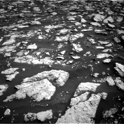 Nasa's Mars rover Curiosity acquired this image using its Right Navigation Camera on Sol 3026, at drive 510, site number 86