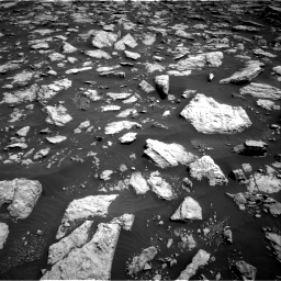 Nasa's Mars rover Curiosity acquired this image using its Right Navigation Camera on Sol 3026, at drive 516, site number 86