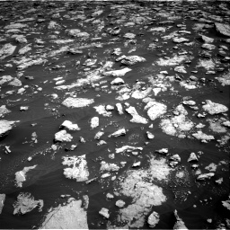 Nasa's Mars rover Curiosity acquired this image using its Right Navigation Camera on Sol 3026, at drive 540, site number 86