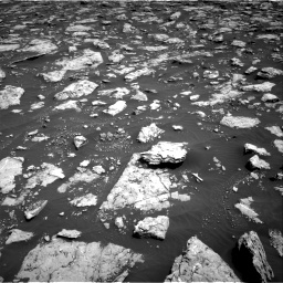 Nasa's Mars rover Curiosity acquired this image using its Right Navigation Camera on Sol 3026, at drive 552, site number 86