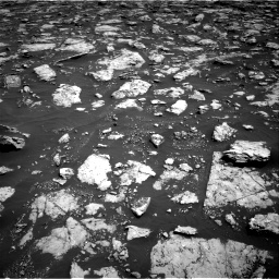 Nasa's Mars rover Curiosity acquired this image using its Right Navigation Camera on Sol 3026, at drive 558, site number 86