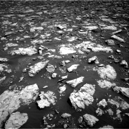 Nasa's Mars rover Curiosity acquired this image using its Right Navigation Camera on Sol 3026, at drive 582, site number 86