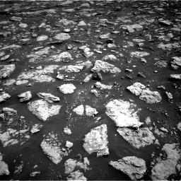 Nasa's Mars rover Curiosity acquired this image using its Right Navigation Camera on Sol 3026, at drive 612, site number 86
