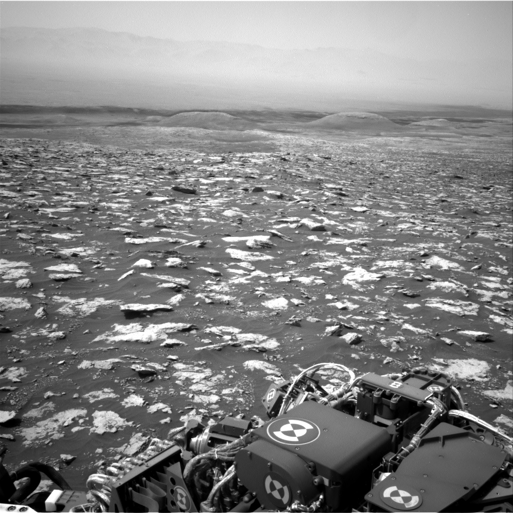 Nasa's Mars rover Curiosity acquired this image using its Right Navigation Camera on Sol 3026, at drive 618, site number 86