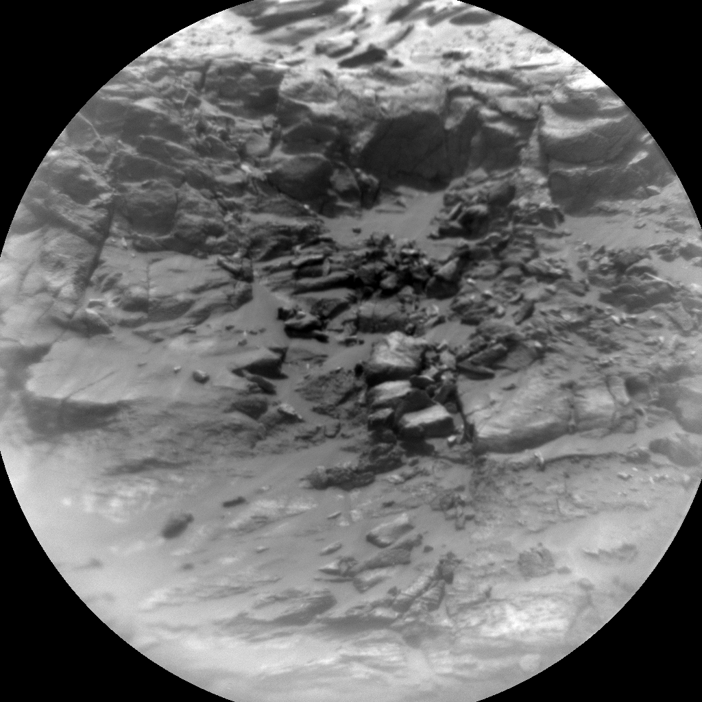 Nasa's Mars rover Curiosity acquired this image using its Chemistry & Camera (ChemCam) on Sol 3026, at drive 480, site number 86