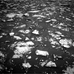 Nasa's Mars rover Curiosity acquired this image using its Left Navigation Camera on Sol 3027, at drive 666, site number 86