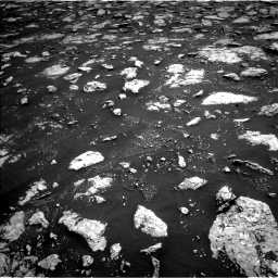 Nasa's Mars rover Curiosity acquired this image using its Left Navigation Camera on Sol 3027, at drive 696, site number 86