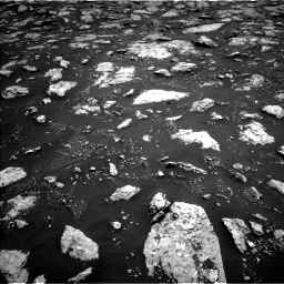 Nasa's Mars rover Curiosity acquired this image using its Left Navigation Camera on Sol 3027, at drive 702, site number 86