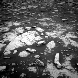 Nasa's Mars rover Curiosity acquired this image using its Left Navigation Camera on Sol 3027, at drive 780, site number 86