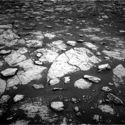 Nasa's Mars rover Curiosity acquired this image using its Left Navigation Camera on Sol 3027, at drive 786, site number 86