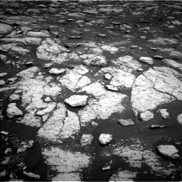 Nasa's Mars rover Curiosity acquired this image using its Left Navigation Camera on Sol 3027, at drive 792, site number 86
