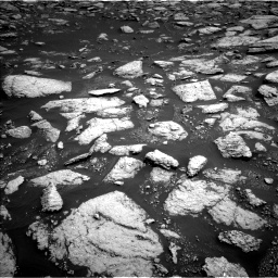 Nasa's Mars rover Curiosity acquired this image using its Left Navigation Camera on Sol 3027, at drive 906, site number 86