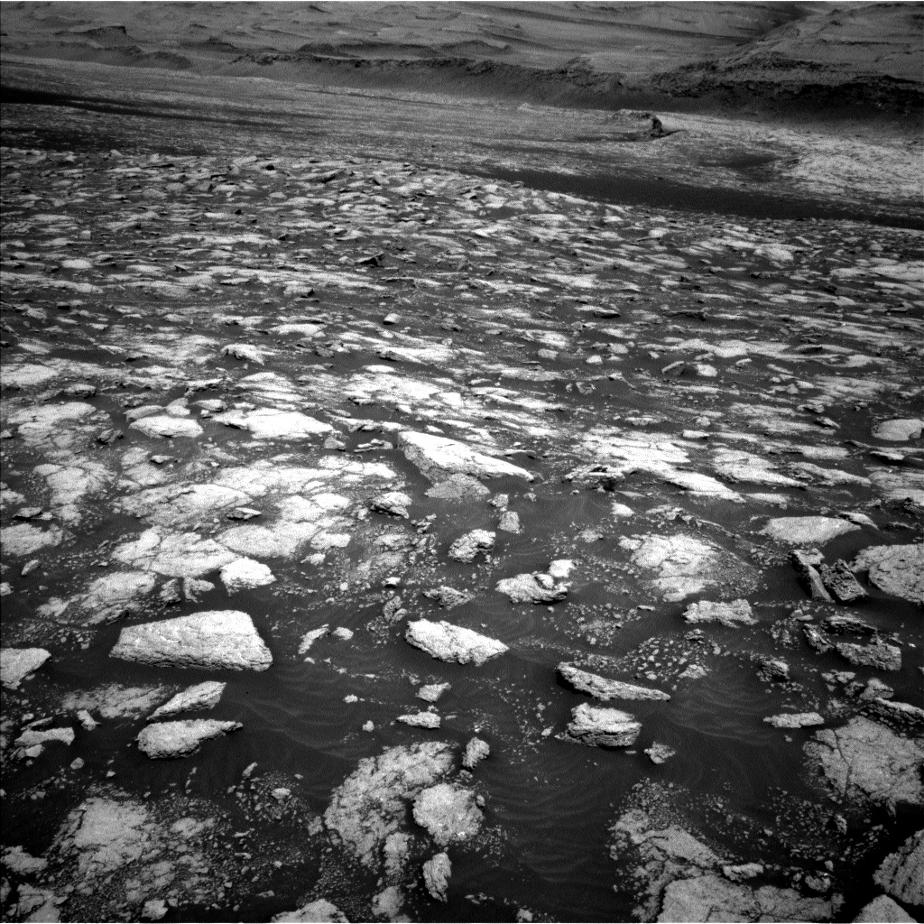 Nasa's Mars rover Curiosity acquired this image using its Left Navigation Camera on Sol 3027, at drive 978, site number 86