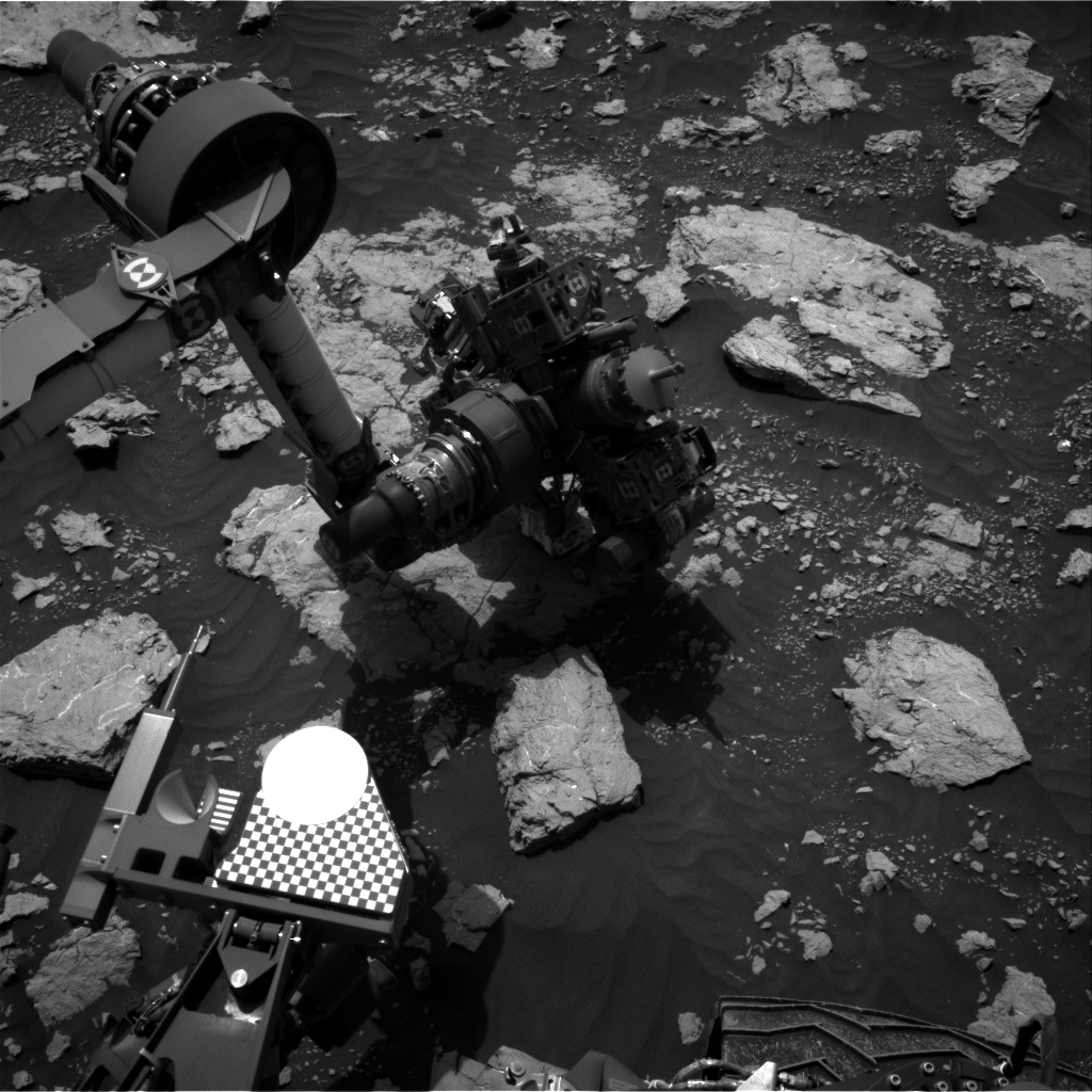Nasa's Mars rover Curiosity acquired this image using its Right Navigation Camera on Sol 3027, at drive 618, site number 86