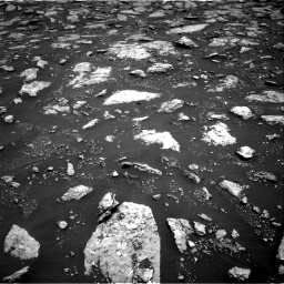 Nasa's Mars rover Curiosity acquired this image using its Right Navigation Camera on Sol 3027, at drive 702, site number 86