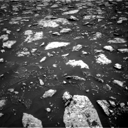 Nasa's Mars rover Curiosity acquired this image using its Right Navigation Camera on Sol 3027, at drive 714, site number 86