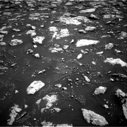 Nasa's Mars rover Curiosity acquired this image using its Right Navigation Camera on Sol 3027, at drive 720, site number 86