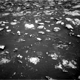 Nasa's Mars rover Curiosity acquired this image using its Right Navigation Camera on Sol 3027, at drive 738, site number 86