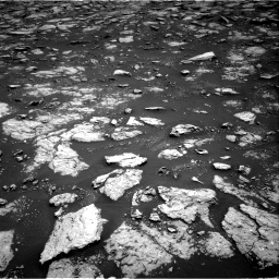 Nasa's Mars rover Curiosity acquired this image using its Right Navigation Camera on Sol 3027, at drive 768, site number 86