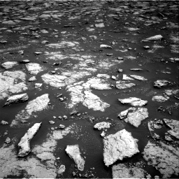 Nasa's Mars rover Curiosity acquired this image using its Right Navigation Camera on Sol 3027, at drive 774, site number 86