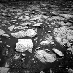 Nasa's Mars rover Curiosity acquired this image using its Right Navigation Camera on Sol 3027, at drive 828, site number 86