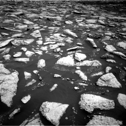 Nasa's Mars rover Curiosity acquired this image using its Right Navigation Camera on Sol 3027, at drive 846, site number 86