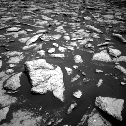 Nasa's Mars rover Curiosity acquired this image using its Right Navigation Camera on Sol 3027, at drive 852, site number 86