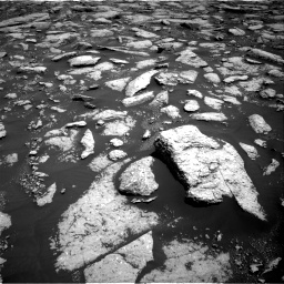Nasa's Mars rover Curiosity acquired this image using its Right Navigation Camera on Sol 3027, at drive 858, site number 86