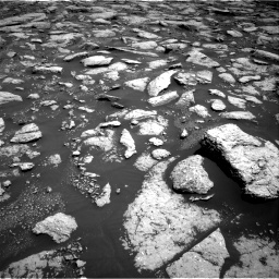 Nasa's Mars rover Curiosity acquired this image using its Right Navigation Camera on Sol 3027, at drive 864, site number 86