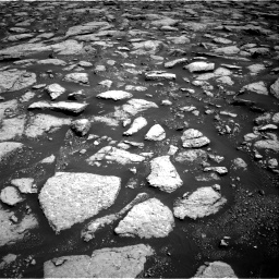 Nasa's Mars rover Curiosity acquired this image using its Right Navigation Camera on Sol 3027, at drive 876, site number 86