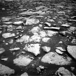 Nasa's Mars rover Curiosity acquired this image using its Right Navigation Camera on Sol 3027, at drive 888, site number 86