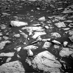 Nasa's Mars rover Curiosity acquired this image using its Right Navigation Camera on Sol 3027, at drive 912, site number 86