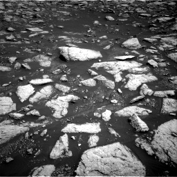 Nasa's Mars rover Curiosity acquired this image using its Right Navigation Camera on Sol 3027, at drive 918, site number 86