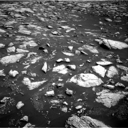 Nasa's Mars rover Curiosity acquired this image using its Right Navigation Camera on Sol 3027, at drive 930, site number 86