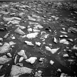 Nasa's Mars rover Curiosity acquired this image using its Right Navigation Camera on Sol 3027, at drive 936, site number 86