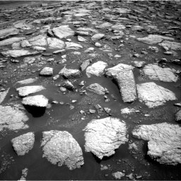 Nasa's Mars rover Curiosity acquired this image using its Right Navigation Camera on Sol 3027, at drive 966, site number 86
