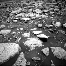 Nasa's Mars rover Curiosity acquired this image using its Right Navigation Camera on Sol 3027, at drive 972, site number 86
