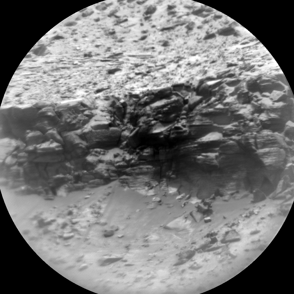 Nasa's Mars rover Curiosity acquired this image using its Chemistry & Camera (ChemCam) on Sol 3027, at drive 618, site number 86