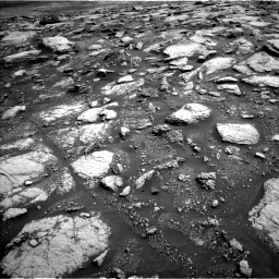 Nasa's Mars rover Curiosity acquired this image using its Left Navigation Camera on Sol 3028, at drive 990, site number 86