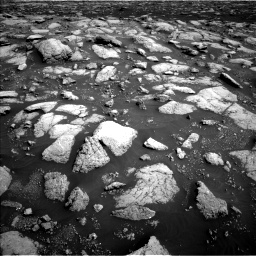 Nasa's Mars rover Curiosity acquired this image using its Left Navigation Camera on Sol 3028, at drive 1152, site number 86