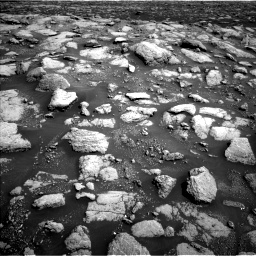 Nasa's Mars rover Curiosity acquired this image using its Left Navigation Camera on Sol 3028, at drive 1164, site number 86