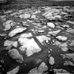 Nasa's Mars rover Curiosity acquired this image using its Left Navigation Camera on Sol 3028, at drive 1200, site number 86