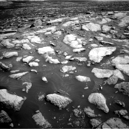 Nasa's Mars rover Curiosity acquired this image using its Left Navigation Camera on Sol 3028, at drive 1212, site number 86