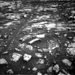 Nasa's Mars rover Curiosity acquired this image using its Right Navigation Camera on Sol 3028, at drive 1062, site number 86
