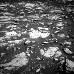 Nasa's Mars rover Curiosity acquired this image using its Right Navigation Camera on Sol 3028, at drive 1080, site number 86