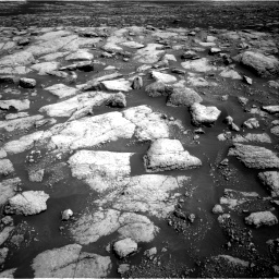 Nasa's Mars rover Curiosity acquired this image using its Right Navigation Camera on Sol 3028, at drive 1182, site number 86