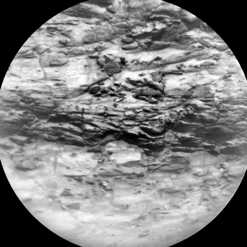 Nasa's Mars rover Curiosity acquired this image using its Chemistry & Camera (ChemCam) on Sol 3028, at drive 978, site number 86